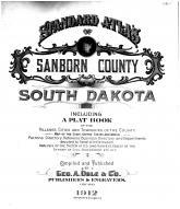 Title Page, Sanborn County 1912
