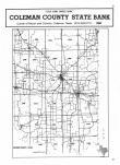 Index Map, Coleman County 1985