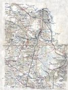 Hanover County 186x Wall Map - Northern Portion, Hanover County 186x Wall Map - Northern Portion