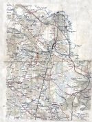 Hanover County 186x Wall Map - Northern Portion 12x17, Hanover County 186x Wall Map - Northern Portion