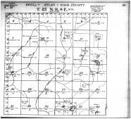 Township 25 N Range 8 E, King County 1912