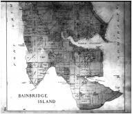 Bainbridge Island - Below, Kitsap County 1909 Microfilm