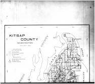 Kitsap County Map - Above, Kitsap County 1909 Microfilm