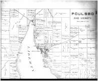 Poulsbo and Vicinity - Above, Kitsap County 1909 Microfilm