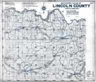 Index Map, Title Page, Lincoln County 1943