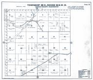 Township 23 N., Range 34 E.W.M., Lincoln County 1943