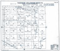 Township 27 N., Range 34 E.W.M., Lincoln County 1943