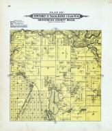Township 31 North, Range 4 East. W.M., Lake Goodwin, Martha Lake, Port Susan, Snohomish County 1910