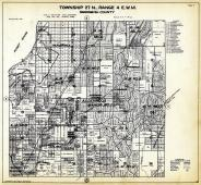 Township 27 N. Range 4 E.W.M., Meadowdale, Alderwood Manor, Seattle Heights, Manordale, Snohomish County 1927