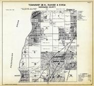 Township 28 N. Range 4 E.W.M., Alderwood Manor, Mosher, Mukilteo, Snohomish County 1927