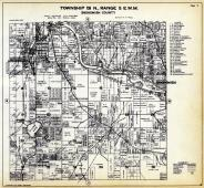 Township 28 N. Range 5 E.W.M., Snohomish, Silver Lake, Lowell, Snohomish County 1927