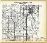Township 31 N. Range 5 E.W.M., Arlington, English Sta., Stimson Crossing, Sisco, Edgecomb, Snohomish County 1927