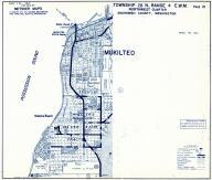 Township 28 N. Range 4 E.W.M., Mukilteo, Elliot Point, Kaketa Beach, Snohomish County 1975