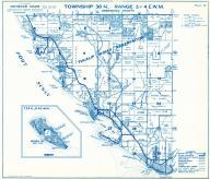 Township 30 N. Range 3 and 4 E.W.M., Tulalip Indian Reservation, Gedney Island, Mission Beach, Priest Point, Port Susan, Snohomish County 1975
