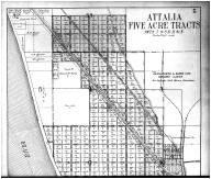 Attalia Five Acre Tracts, Attalia - Above, Walla Walla County 1909