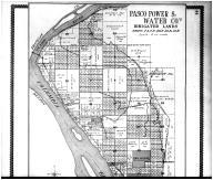 Pasco Power & Water Co, Two Rivers - Above, Walla Walla County 1909