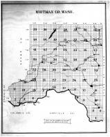 Index Map, Whitman County 1895