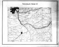 Township 14 Range 45 Pullman, Staley, Whitman County 1895