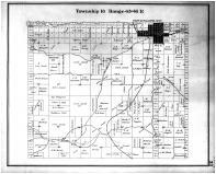 Township 16 Range 45-46 E, Palouse City, Whitman County 1895