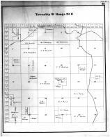 Township 18 Range 39 E, Whitman County 1895