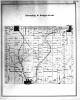 Township 18 Range 45 - 46, Garfield, Belmont, Farmington, Whitman County 1895