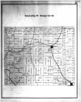 Township 19 Range 45-46, Aurora, Farmington, Whitman County 1895