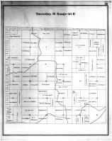 Township 20 Range 40 E, Whitman County 1895