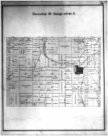 Township 20 Range 45- 46 E, Tekoa, Whitman County 1895