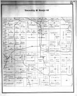 Townshpi 18 Range 43, Whitman County 1895