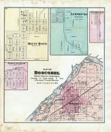 Boscobel Township, North Andover, Mount Hope, Lewisburg, Centreville, Grant County 1877