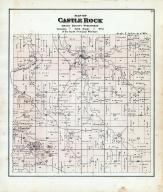 Castle Rock Township, Blue River, Grant County 1877