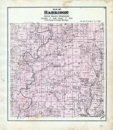 Harrison Township, Platte River, Grant County 1877