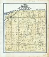 Marion Township, Wisconsin River, Grant County 1877