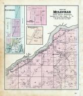 Millville Township, Patch Grove, Martinville, New California, Grant County 1877