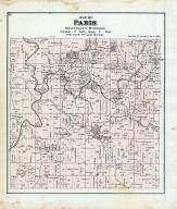 Paris Township, Dickeysville, Platte River, Grant County 1877