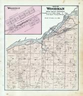 Woodman Township, Wisconsin River, Grant County 1877