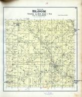 Bloom Township, West Lima, Ash Ridge P.O., Woodstock, Yuba, Richland County 1895