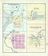 Cazenovia, Yuba, Hub City, Woodstock, Richland County 1895