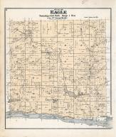 Eagle Township, Basswood P.O., Balmoral, Orion, Byrd's Creek, Richland County 1895