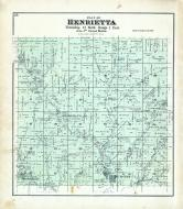 Henrietta Township, Hub City, Woodstock, Yuba, Richland County 1895