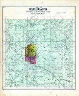 Richland Township, Horse Creek, Pine River, Richland County 1895