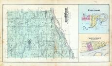 Richwood Township, Excelsior, Tavera P.O., Port Andrew, Byrd's Creek, Richland County 1895