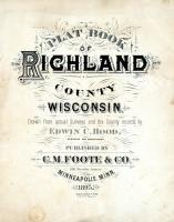 Title Page, Richland County 1895