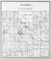Fulton Township, Edgerton, Indian Ford, Rock River, Rock County 1940