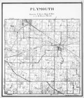 Plymouth Township, Hanover, Footville, Rock County 1940