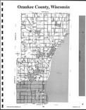 Ozaukee County Index Map, Washington and Ozaukee Counties 1999