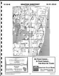 Ozaukee County Map Image 010, Washington and Ozaukee Counties 1999