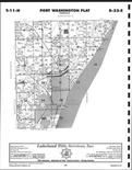 Ozaukee County Map Image 011, Washington and Ozaukee Counties 1999