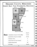 Ozaukee County Table of Contents, Washington and Ozaukee Counties 1999