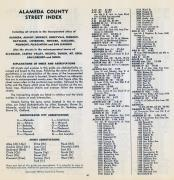 Street Index 041, Alameda County 1957